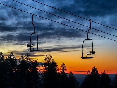 Amazing Sunset at Bogus Basin