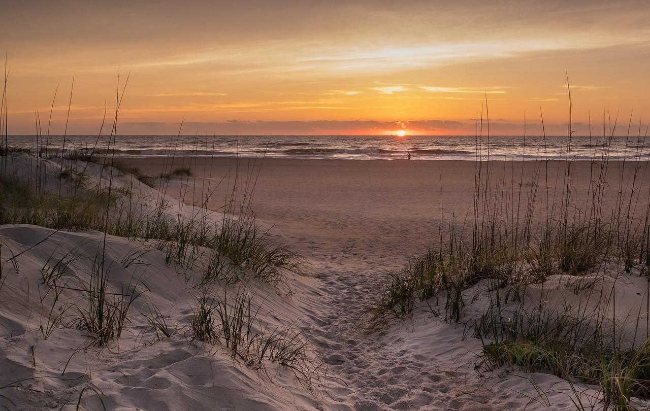 Sunrise on St. Augustine Beach
