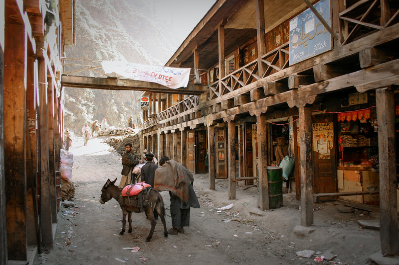 A remote village in the Kaghan valley