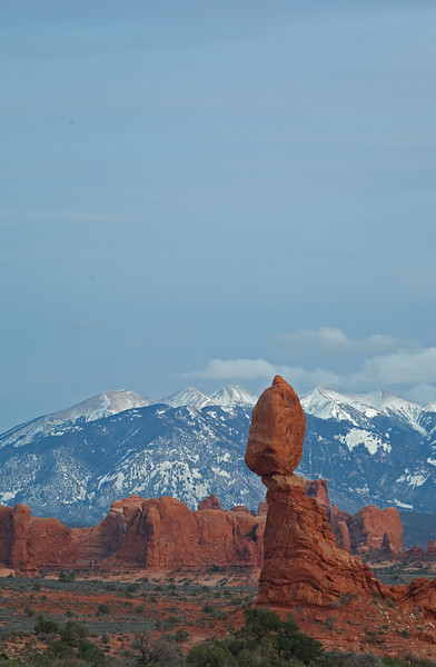 Peaks<br /> Arches National Park<br /> Moab, Utah<br /> <br /> Canon 5D
