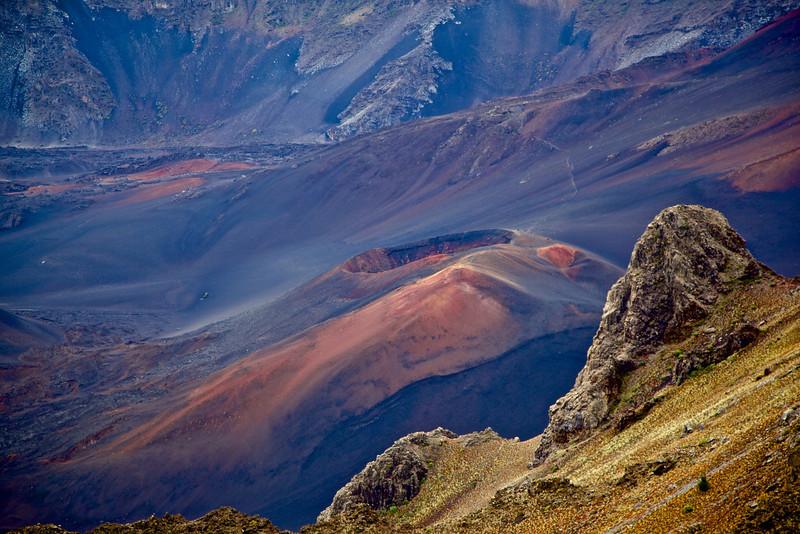 In Haleakala Crater