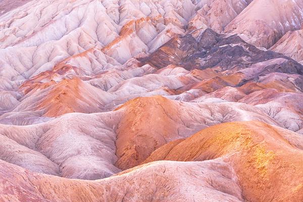 Badlands of Death Valley