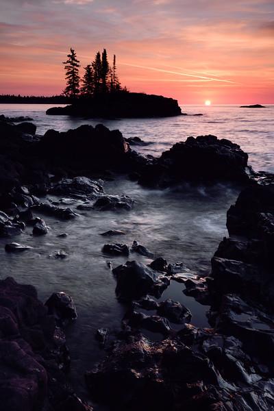 Sunrise at the Tombolo 04
