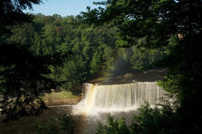 Rainbow over Tahquamenon Falls