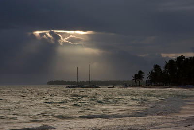 Calm Before the Storm - Punta Cana, Dominincan Republic, January 2008; Canon 40D
