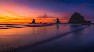 Rolling Waves of Cannon Beach