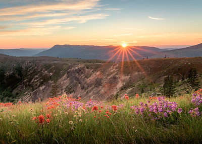 Final Rays | Mount St. Helens National Park