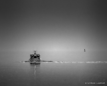 Into the Mist, Orient Point, New York