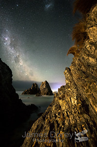 Camel rock and Milky way