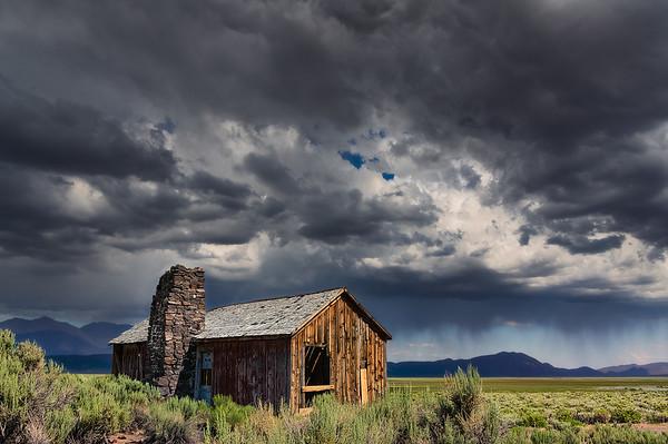 Abandoned Desert Shack