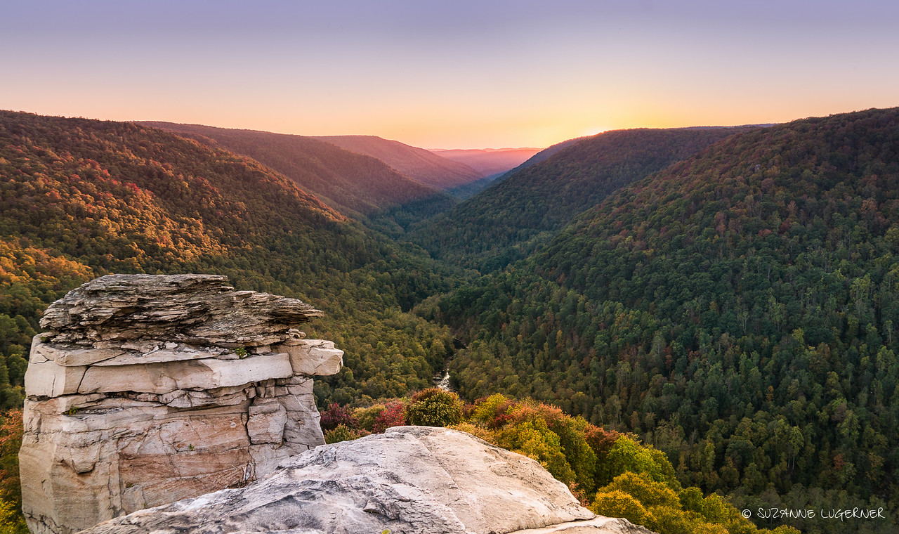 Sunset at Lindy Point, West Virginia