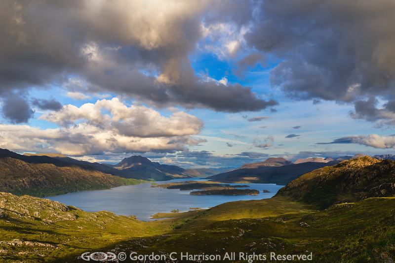 Photo 3219: Evening light at Loch Maree