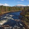 River Dee near Braemar. Scotland. John Chapman.