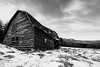 Black and White Barn in Keene Valley