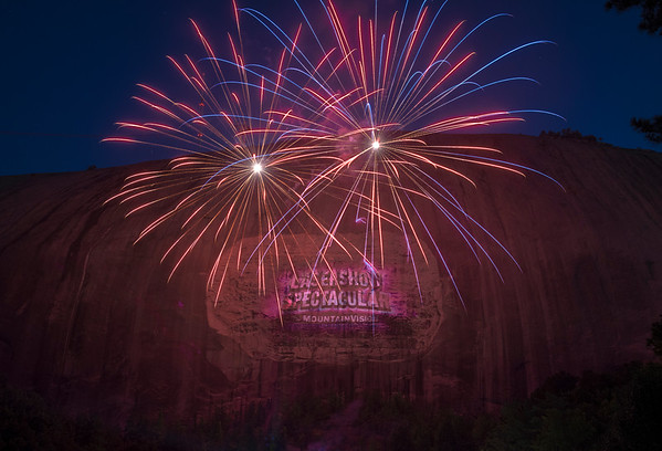 Lasershow Spectacular at Stone Mountain, GA