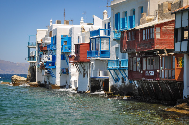 Mykonos, Greece;  Little Venice