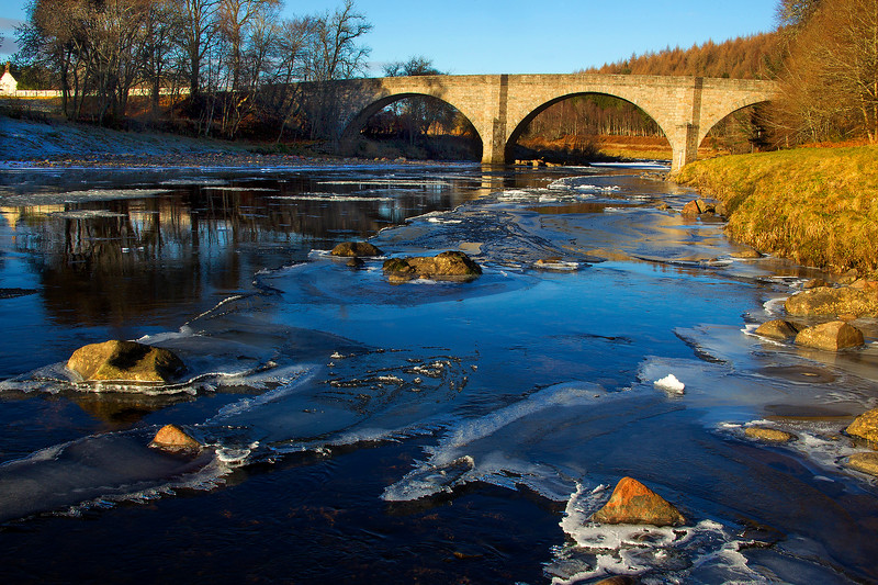 Potarch Bridge Aberdeenshire. John Chapman.