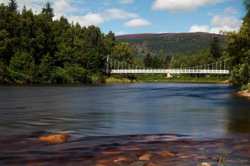 River Dee. Aberdeenshire. John Chapman.
