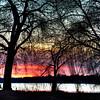 Sunset over Lake Nokomis