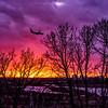 Rainbow Sunset over the Minnesota River Valley