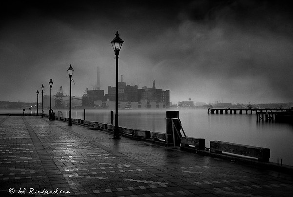 Rainy Morning at Fells Point