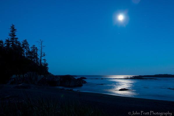Moonrise, Uclulet, BC