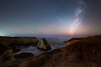 Milky Way, Shark Fin Cove