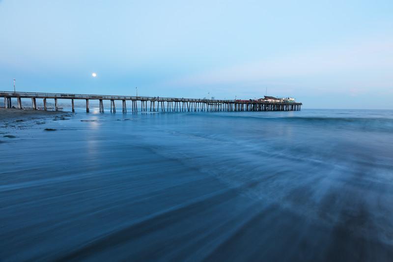 Moonrise, Capitola Pier, Santa Cruz, CA