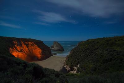 The Campfire, Shark Fin Cove