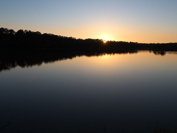 Sunset, Jason's Lake