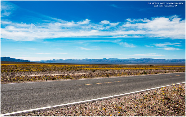 """The """"El Niño"""" effect in Death Valley"""