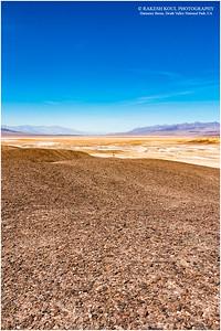 The vast Death Valley, Harmony Borax