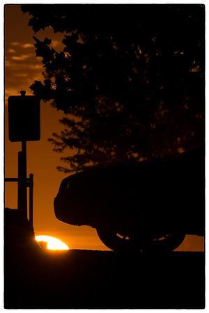 Car above the Sun