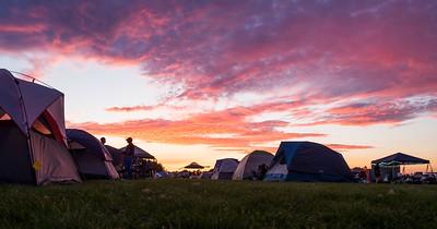 At Sunset - Campground, Madras, Oregon