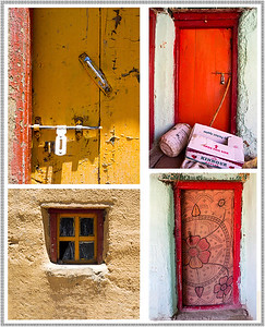 Colors of Komik Monastery, HP, India