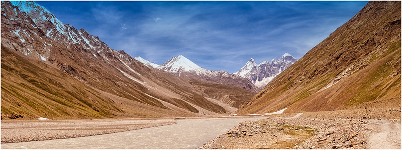 Panorama, Spiti Valley, Himachal