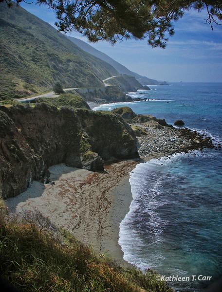 Beach and Big Sur Coast