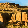 Bluffs, Chaco Canyon