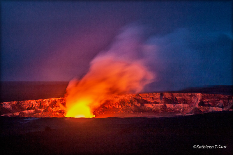 Volcano Plume, Halemaumau Crater