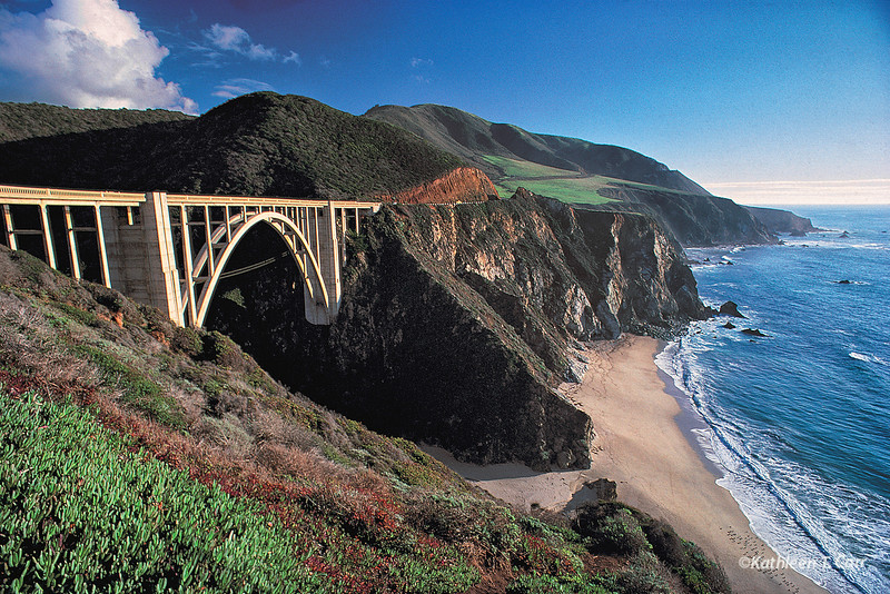 Bixby Bridge and Big Sur Coast