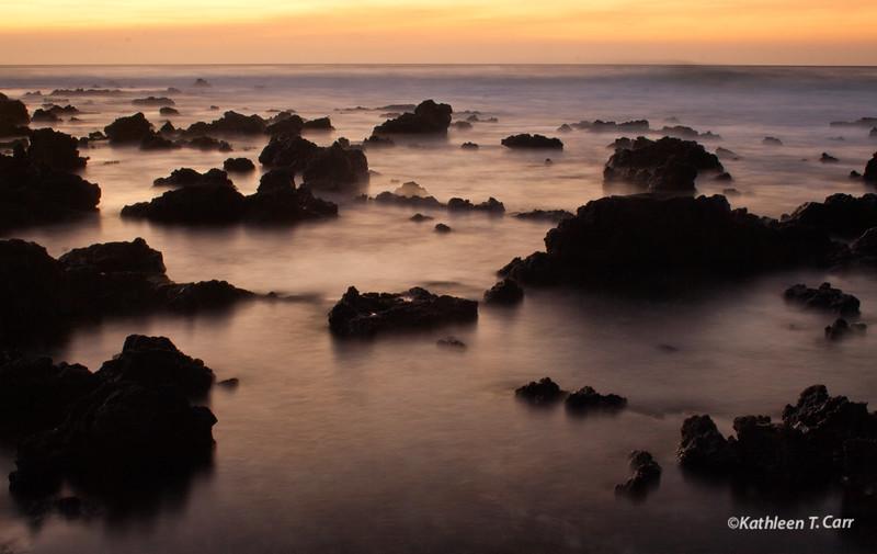 Kona Coast Sunset