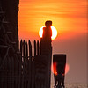 Sunset, Place of Refuge Tikis