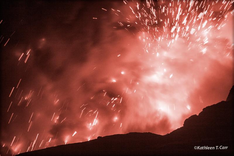 Lava Flow Explosion
