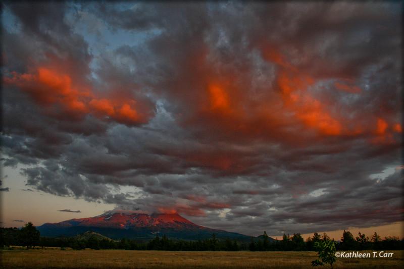 Mount Shasta Sunset