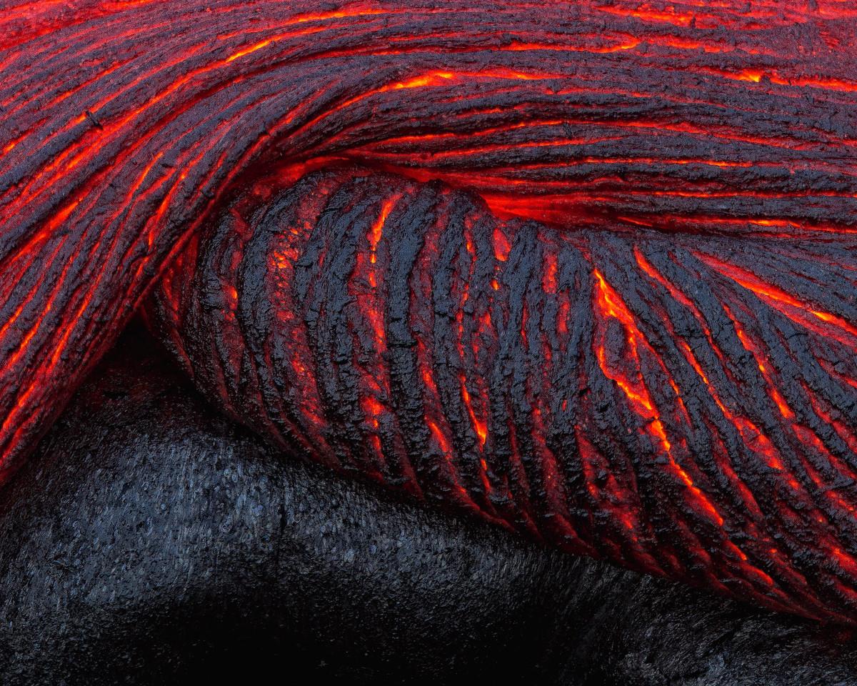 """Folding Lava"""