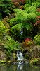 """Japanese Garden Waterfall"""