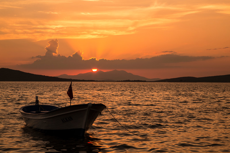Sunset in Ayvalik