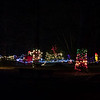Various Christmas Lights at Williams Park.