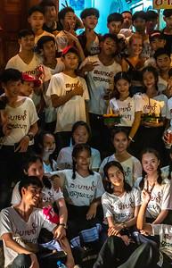 Festival participants.