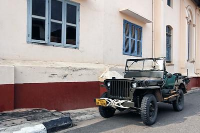 Old Army Jeep,  Savannakhet, Laos